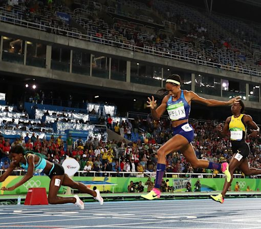 Allyson Felix Denied Gold by Dive But Still Cements Place in Olympic Track History
