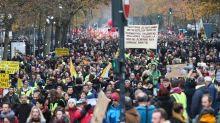 Retraites : retour en images sur la manifestation du 5 décembre à Toulouse