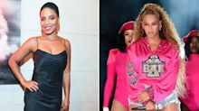 Actress brushes off accusations that she bit Beyoncé