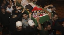 Israeli defense minister apologizes for Palestinian's death