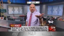 Netflix content enough to hang with Disney, competitors, says Cramer