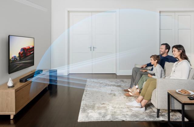 Sony's latest soundbar mimics spatial audio with a 3.1 setup