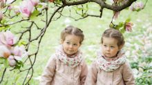 Father admits he still can't tell his identical twin daughters apart