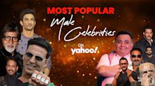 Most Popular Male Celebrities on Yahoo India