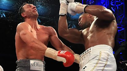 Eddie Hearn reveals why Anthony Joshua and Wladimir Klitschko 2017 rematch could be thwarted