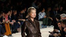 Naomi Campbell y Kate Moss desfilan para la colección masculina de Louis Vuitton