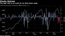 Persiste tensión comercial, acciones de EE.UU. caen nuevamente