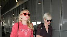 Busy Philipps Steps Out In Female Reproductive System Sweatshirt