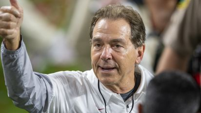 Saban's vaccine pitch: Do it for football