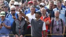 Tiger Woods winds back the clock at the British Open