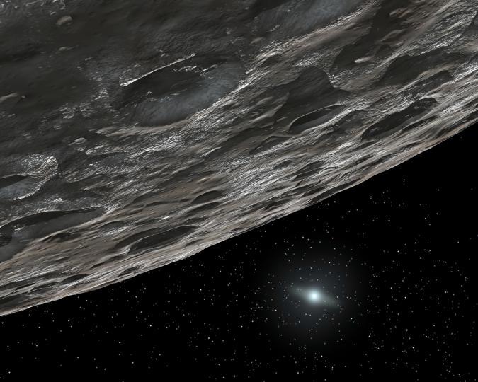 Artist's Conception of a Kuiper Belt Object