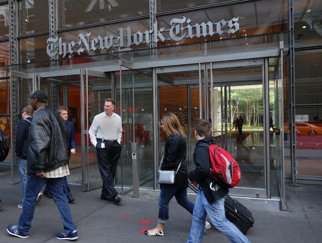 The New York Times was among the media attacked by Donald Trump during his presidential race, as the newspaper launched a series of investigations that revealed his reported tax loss of more than $900 million