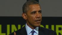 Obamas Thank Disabled Veterans Before Vacation