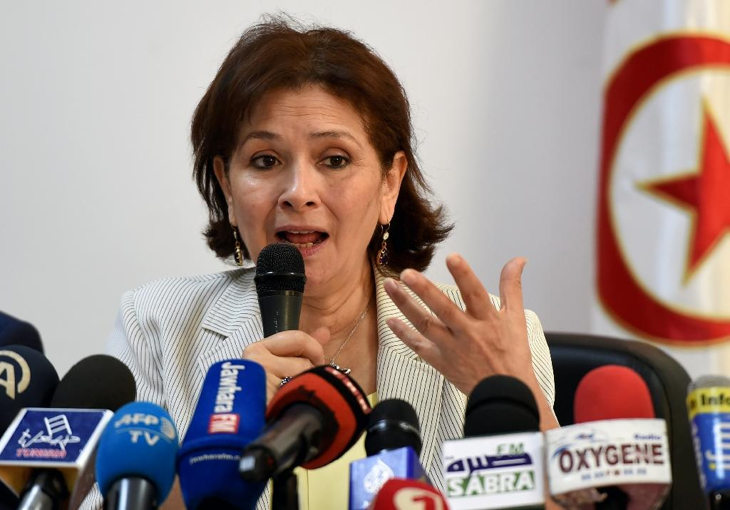 """Sihem Ben Sedrine, president of the Forum of Truth and Dignity, reported that the panel she leads has received 65,000 files from the """"victims"""" of human rights violations in Tunisia between mid-1955 and the end of 2013"""