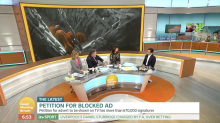 Piers Morgan criticises Iceland boss over banned Christmas advert on 'GMB'
