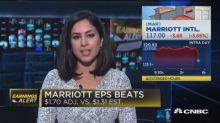 Marriott sinks after missing revenue expectations