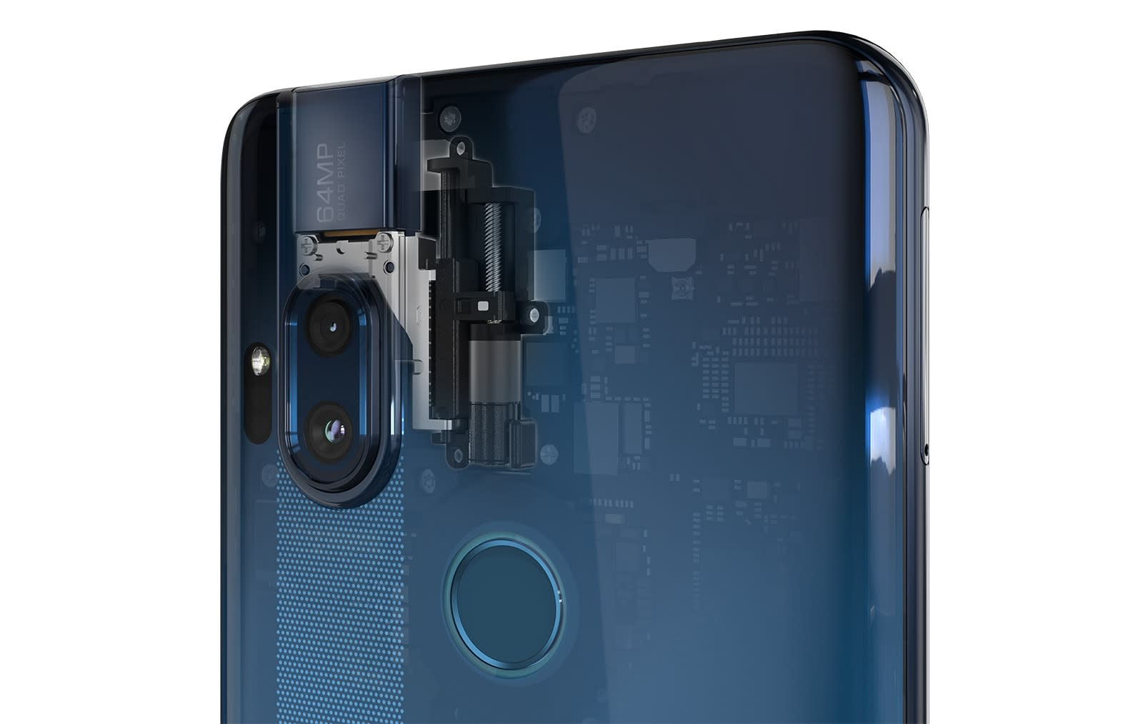 Motorola One Hyper 32-megapixel pop-up selfie camera