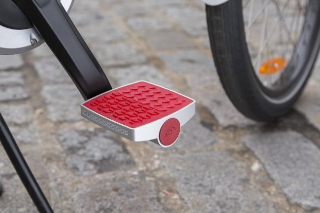 This pedal tracks both fitness and bike thieves