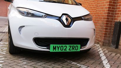 Green number plates to identify cleanest cars