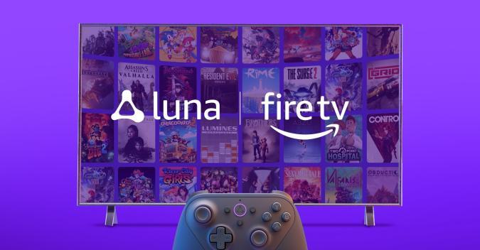 Amazon Luna on Fire TV