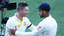 I think Virat has a lot of Australian spirit in him, says Michael Clarke