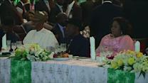 Jonathan hosts dinner on eve of Nigeria's inauguration of new president