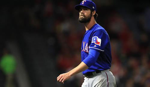 MLB: Lange Pause für Rangers-Starter