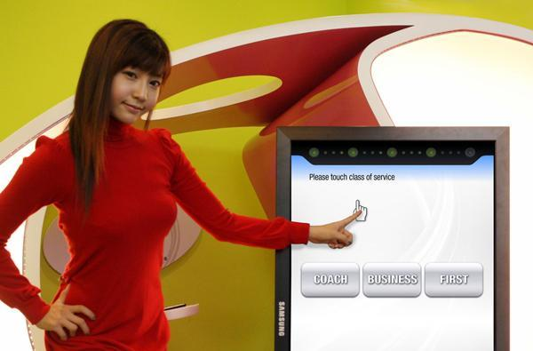 Samsung kicks out new touchscreen LCDs for your public smudging