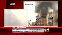 East Village Building Collapses After Explosion