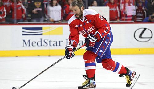 """NHL: Ovechkin: """"Ich fahre einfach"""""""