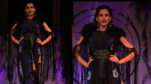 Sonnalli Seygall Walks The Ramp For A Noble Cause