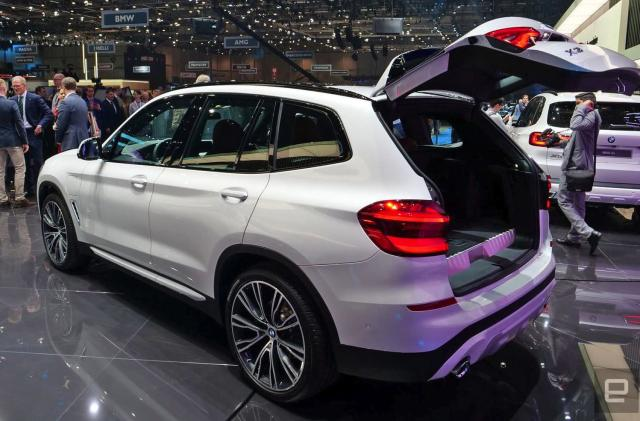 BMW's latest plug-in hybrid is the all-new X3 xDrive30e