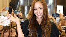 Queen of J-pop Namie Amuro ends career-wrapping tour in tears, urges fans to take care