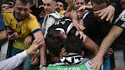 Juventus stadium tearful for Buffon sendoff