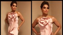 Bipasha Basu looks gorgeous in a pink mermaid gown