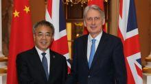 Portas da China se abrem aos investidores britânicos