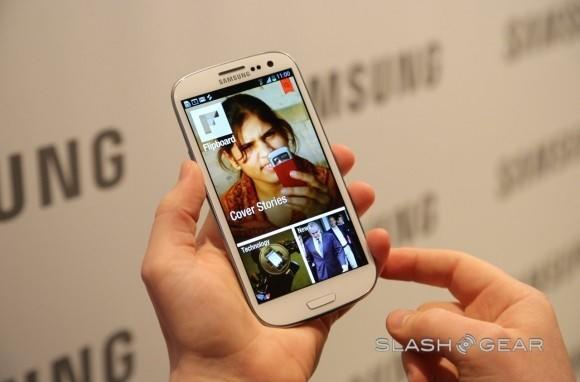 Samsung Galaxy S III gets an early exclusive on Flipboard, headed to other Android phones in 'coming months'