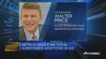 Investors are questioning trajectory of Netflix subscribe...