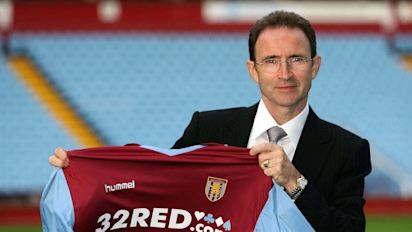 On this day in 2006: Martin O'Neill appointed new Aston Villa boss