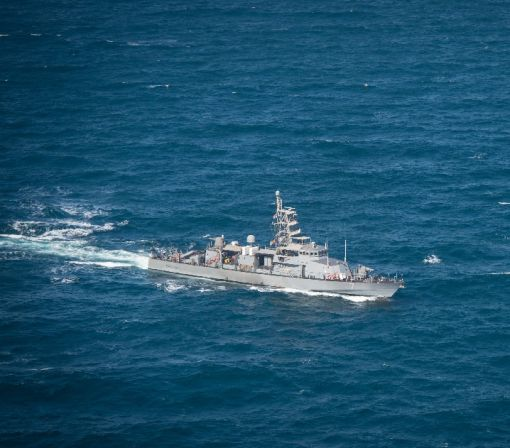 US naval ship fired warning shots at Iranian vessel: official