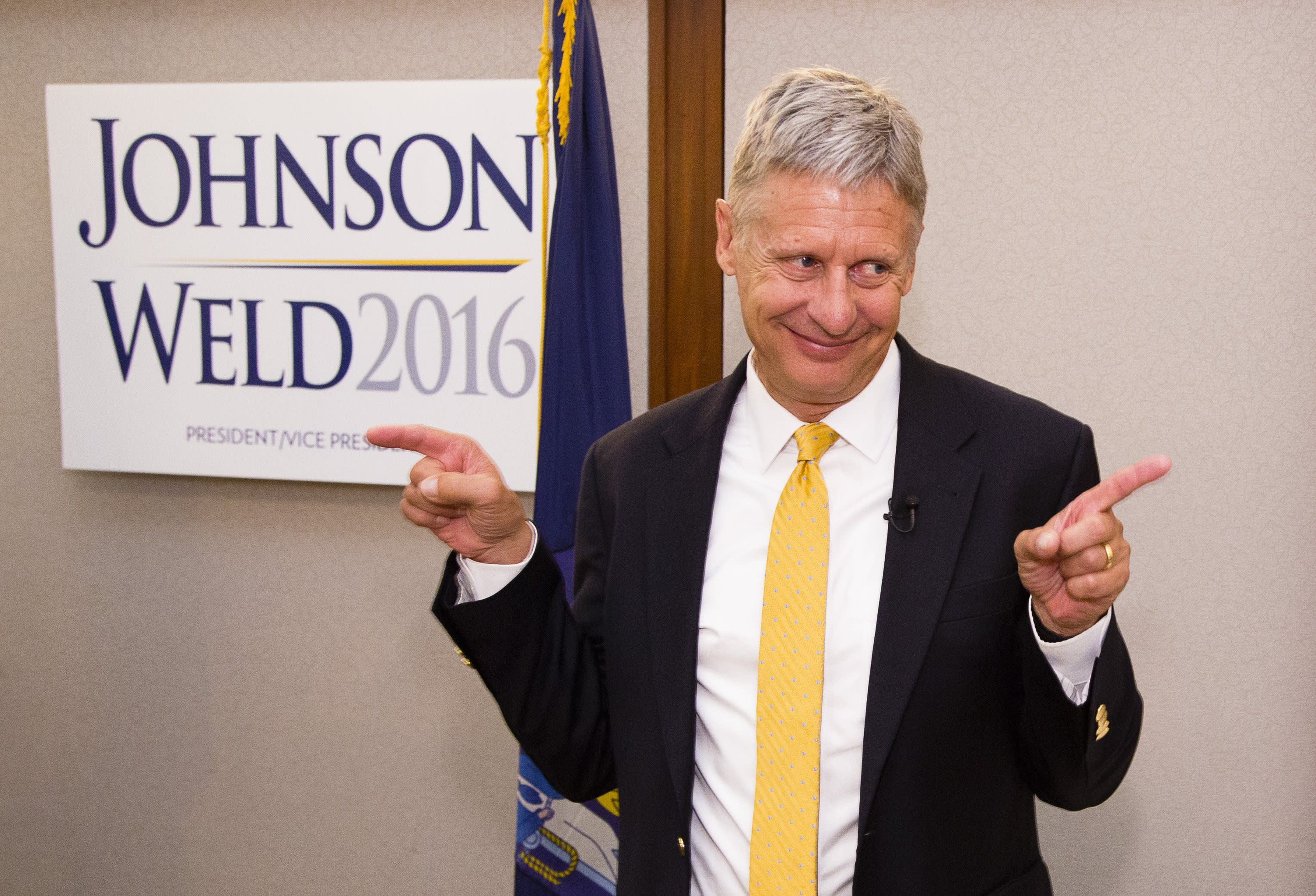 Presidential Candidate Gary Johnson Asks 'And What is Aleppo?'
