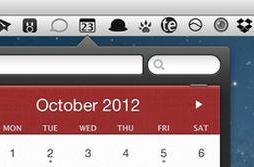 Bartender will hide your menu bar icons, goes to version 1.0