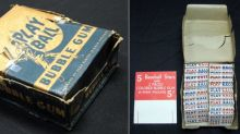 A box of unopened 1948 baseball cards found in an attic sold for $514,000
