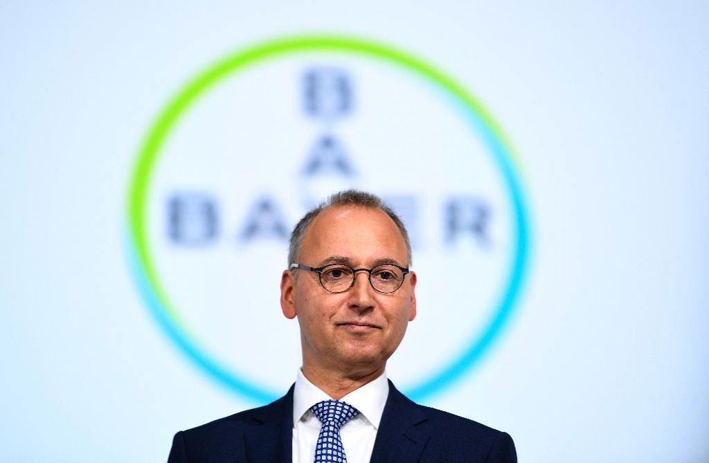 Bayer CEO Werner Baumann faced down disgruntled shareholders in Bonn on Friday, saying the business case for the Monsanto merger remained as strong as ever (AFP Photo/INA FASSBENDER)