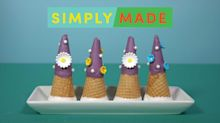 This DIY Ice Cream Cone Treat Holds A Sweet Surprise