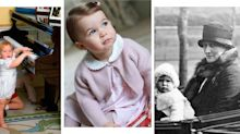 Here's what all your favourite royal family members looked like at one year old