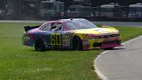 Pastrana spins at Mid-Ohio