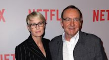 Robin Wright on Kevin Spacey's Sexual Assault Allegations: 'I Didn't Know the Man'