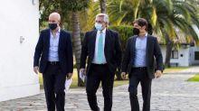 """Coronavirus en la Argentina: """"Si ves todos los negocios abiertos en la avenida Santa Fe, te relajás"""", dijo Alberto Fernández antes del anuncio de Larreta"""