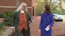 Ben Franklin Impersonator Gives His Take on the 2016 Election